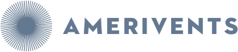 Amerivents - Hospitality, Personified logo